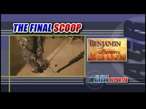 Benjamin Discovery air rifle - short review