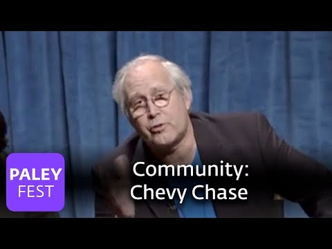 Community - Chevy Chase Praises Joel McHale and the Cast (Paley Center Interview, 2010)