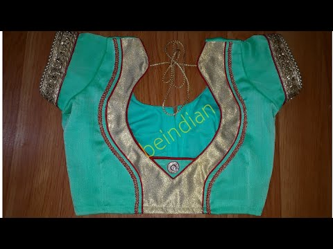 beautiful blouse designing || women's fashion blouse ||blouse design for saree