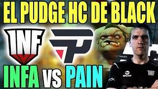 INFAMOUS vs PAIN GAMING - EL PUDGE CARRY DE BLACK!!! - CLASIF. EPICENTER MAJOR SA 2019