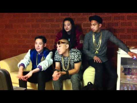 04.03.12 Far East Movement talk about the collaboration with Bill