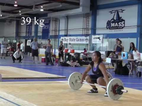 2013 BayState Games - Heavier Women Snatch Lift Image 1