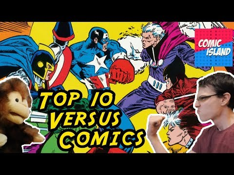 "Top 10 ""Versus"" Comics – The Battle of the Battles"