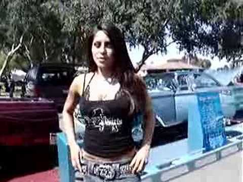 Jenaveve Jolie at Street Low Car Show Video