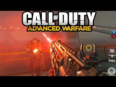 COD Advanced Warfare: MULTIPLAYER Gameplay - Laser Weapon EM1 on Ascend (Call of Duty AW)