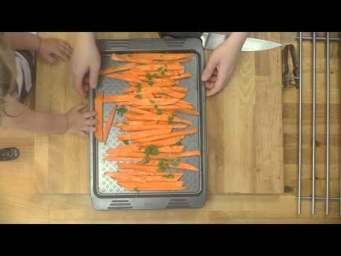 Domowy Przepis, Jak Przygotować Zdrowe Frytki ? Frytki Ze Słodkich Ziemniaków - Batatów