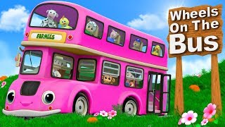 Wheels On The Bus | Cartoon Videos And Nursery Rhymes by Farmees