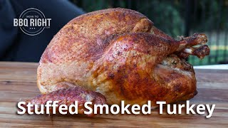 Stuffed Smoked Turkey