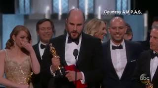 'Moonlight' or 'La La Land'? Best Picture Mix-up at Oscars by : Eyewitness News