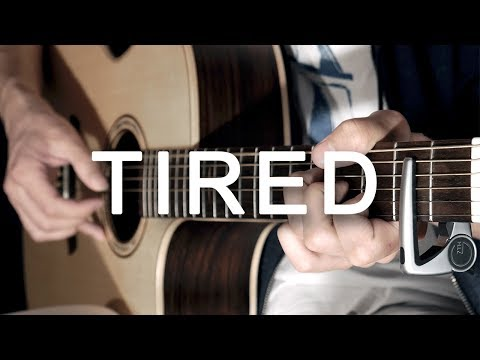 Tired - Alan Walker ft. Gavin James🚶Fingerstyle Guitar Cover by Albert Gyorfi [+TABS]