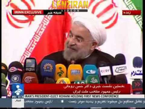 Blind journalist to Hasan Rohani : I support Ahmadinejad , are you going to fire his managers ?