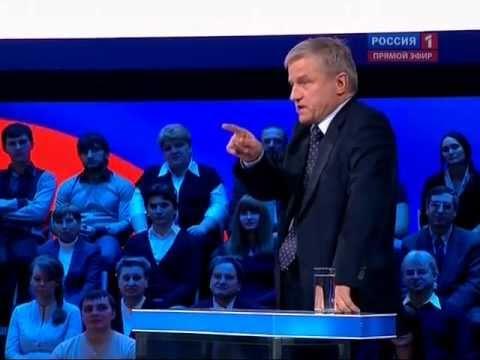 Зюганов vs Путин дебаты 27.02.2012 Поединок