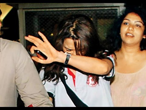E NOW tracks Preity Zinta in Los Angeles