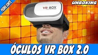 Unboxing - VR BOX 2.0 - Óculos de realidade virtual para smartphones!