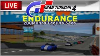 ENDURANCE 200Milhas Laguna Seca - Gran Turismo 4  AO VIVO