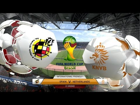 2014 FIFA World Cup Top Matches! | Spain vs Netherlands (FIFA 14 Simulation)