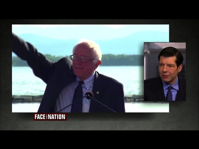 Sanders on the rise?