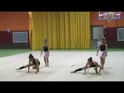 Baile acrobático Paula Alonso  - Concurso de talentos  - FIESTAS SANTA QUITERIA 2017 ALPEDRETE