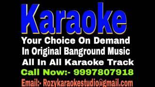 Pyar Jhoota Sahi Duniya Ko Dikhane Aaja Karaoke - Tahqiqaat { 1993 } Vinod Rathod Track