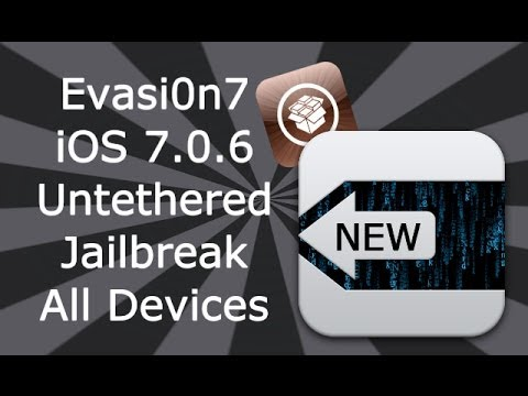 How To Jailbreak iOS 7 / 7.0.6 Untethered For All iPhone. iPad & iPod Touch Models