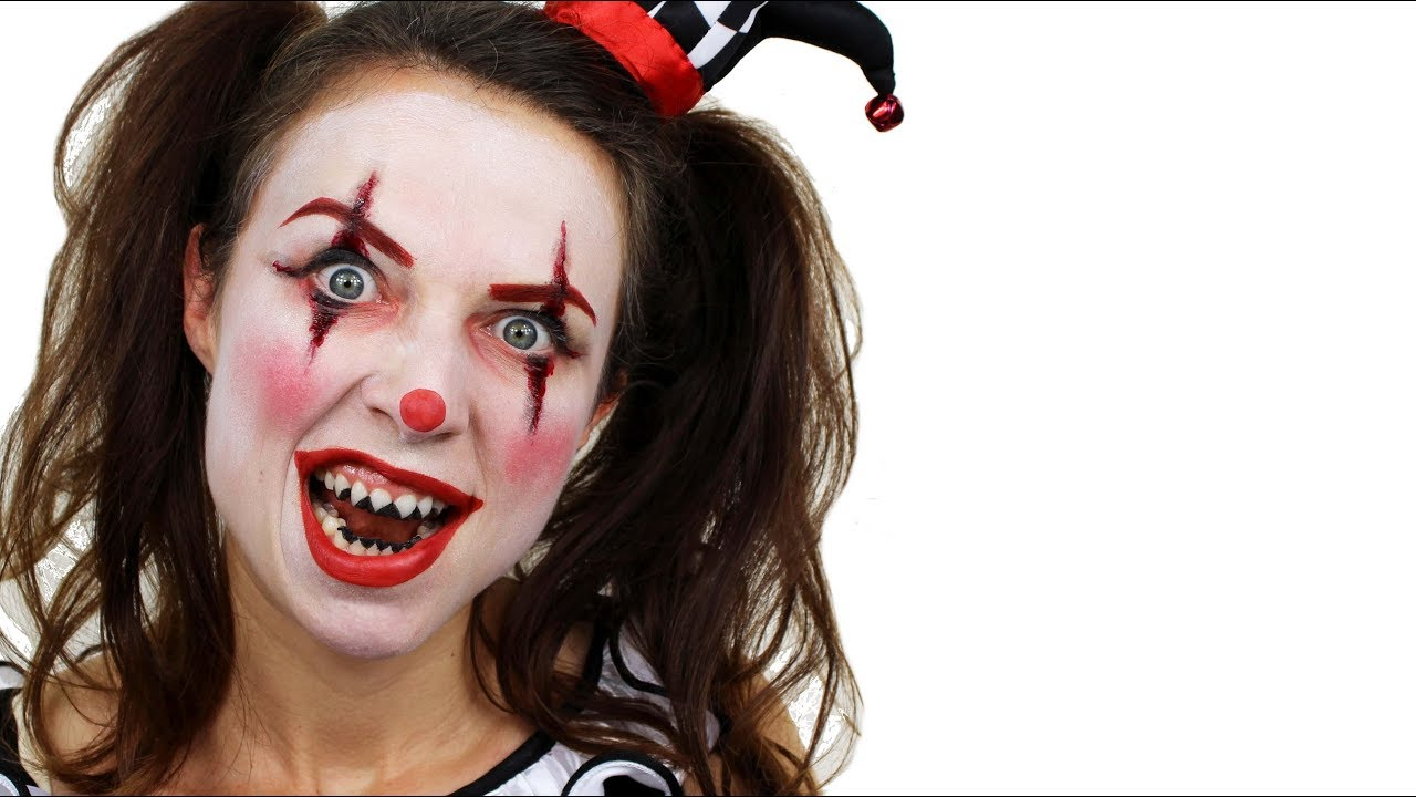 The gallery for --> Killer Clown Makeup For Kids