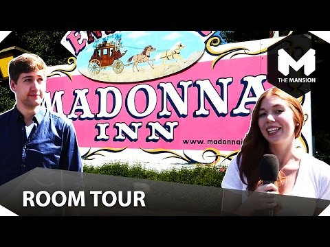 Madonna Inn Room Tour video