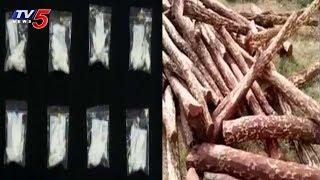 కడపలో జోరుగా డ్రగ్స్, ఎర్రచందనం దందా..! | Kadapa