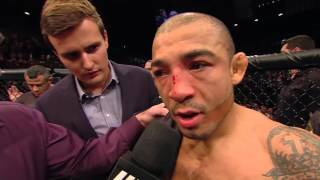 UFC 194: Conor McGregor and Jose Aldo Octagon Interview