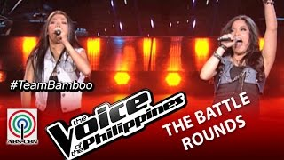 """The Voice of the Philippines Battle Round """"Banal na Aso"""" by Shaira Cervancia and Tanya Diaz"""