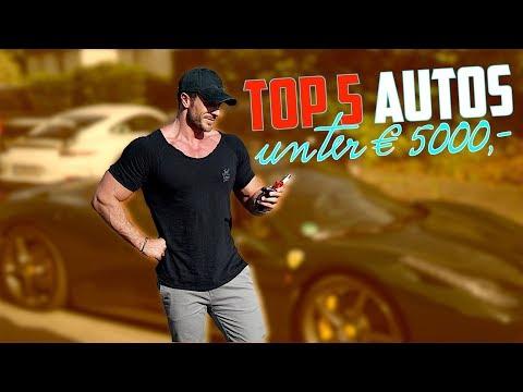 Autos unter 5000,- Top 5
