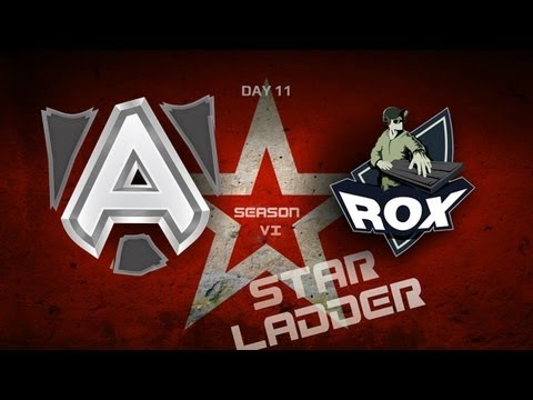 SLTV StarSeries S6 Day 11 - The Alliance vs RoX.KIS