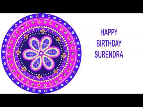 Surendra   Indian Designs - Happy Birthday