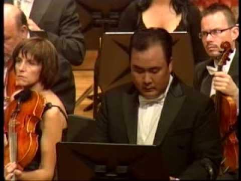 Penderecki conducts Penderecki Symphony No.8 (Lieder der Vergänglichkeit) (Part 1)