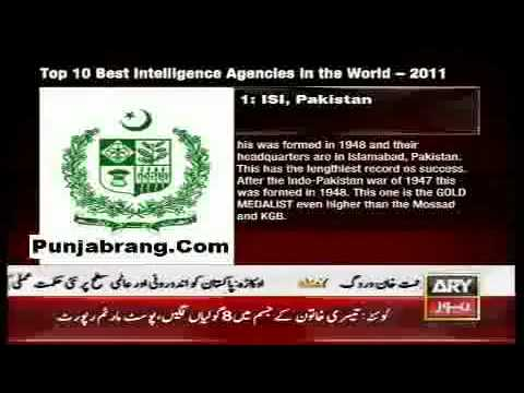 ISI 1st in the List of 10 Intelligence Agencies in the World (by American Crime News Report).flv