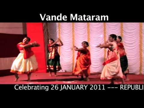 Celebrating Republic Day of India VANDE MATARAM Dance