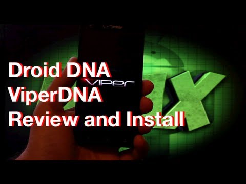 Verizon Droid DNA Viper Rom Most Customizable [FULL REVIEW] and Install Guide