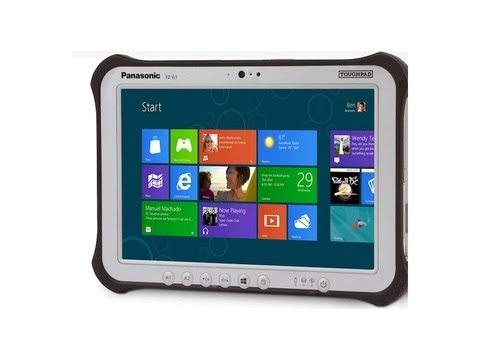 Panasonic Toughpad FZ-G1 Hands On Review- Ruggedized Windows 8 Tablet