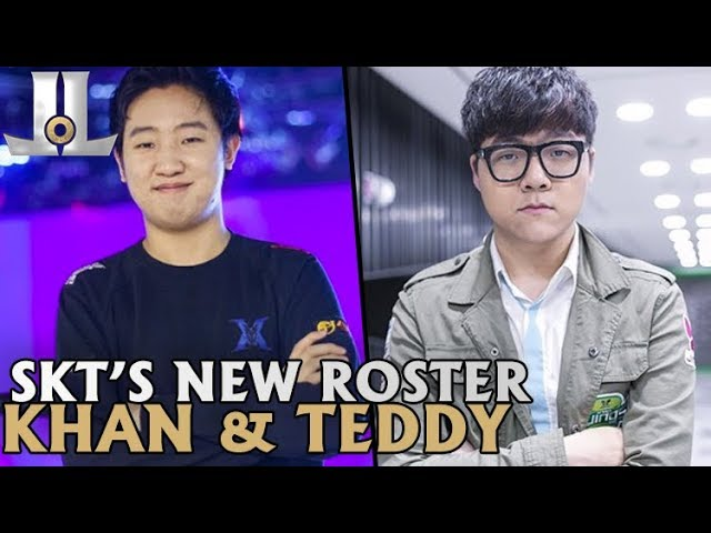 SKT Sign Khan, Teddy and Clid  to Join Faker | 2019 LoL Offseason