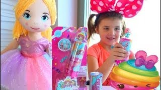 Surprise doll toys for kids. We're opening surprises.