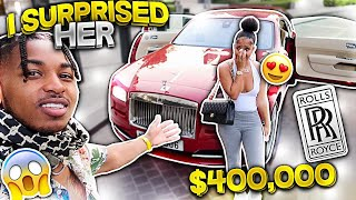 I SURPRISED HER WITH A $400,000 ROLLS ROYCE WRAITH!!