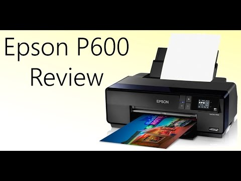 Epson P600 Review: Make Prints at Home!