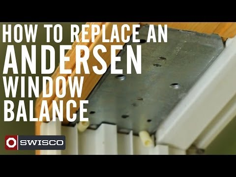 How to replace an Andersen Window Balance
