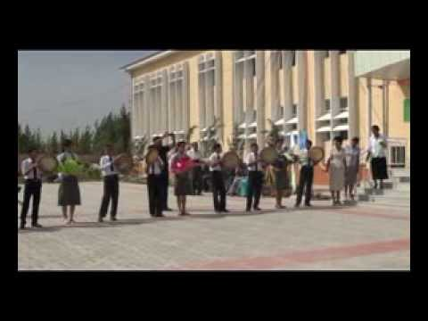 Construction process of school in Andijan - UNDP/GEF Project in Uzbekistan