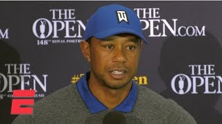 Tiger Woods reflects on Day 1 of The Open | The Open Championship 2019