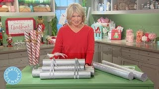 Tips and Techniques for Wrapping Holiday Gifts - Martha Stewart