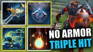 1 Click = Triple Hit = EZ Kill [Geminate Attack + Fervor + Echo Strike] Dota 2 Ability Draft