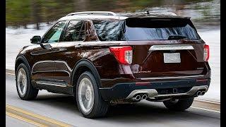 2020 Ford Explorer Interior, Exterior and Drive