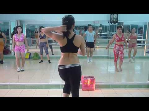 Aerobics  Class HCMC, Vietnam 2/3