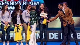 Premio Endavant al Mérito Deportivo a la Selección Española Femenina de Rugby