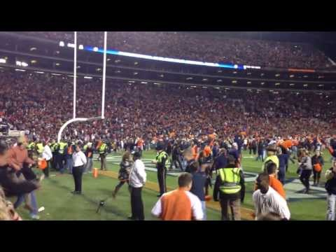 Auburn's Chris Davis wins the 2013 Iron Bowl (Winning endzone POV)